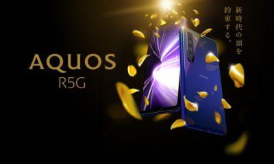 Анонс Sharp Aquos R5G: флагман з 8К-шірік і IGZO-екраном на 1000 ніт